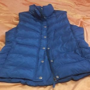JCREW down filled vest